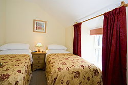 twin bedroom in beddgelert